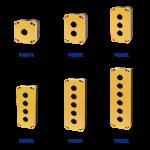 קופסאות לציוד קוטר 22